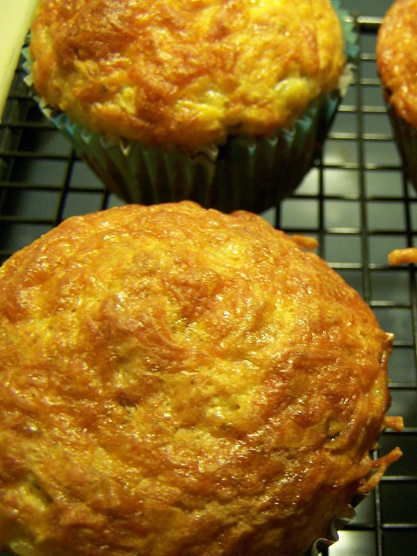 Cottage Cheese Muffins with Sun-Dried Tomatoes