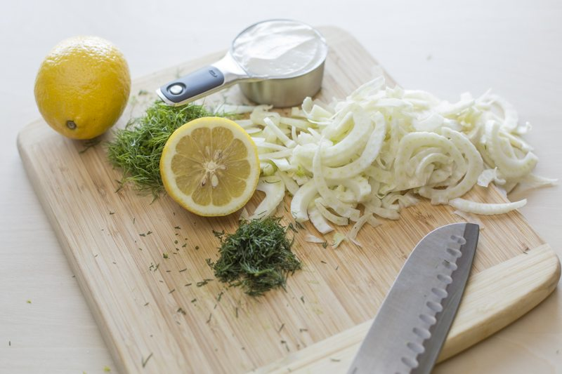 Potato-Salad-Dressing-Ingredients-Dill-Fennel-Lemon